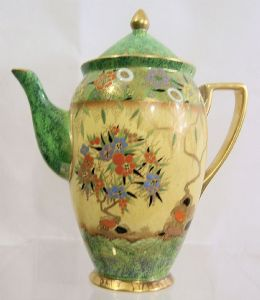Carlton Ware 'Mandarin Tree' Coffee Pot - D1930s - SOLD